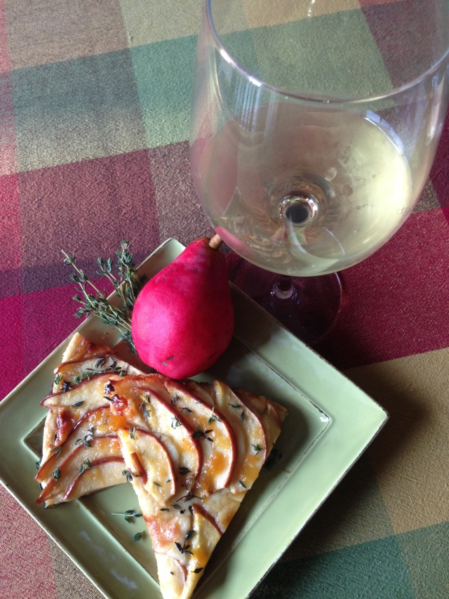 Tart with Wine