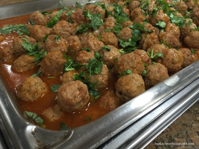 Meatballs in Sweet-and-Sour Tomato Sauce