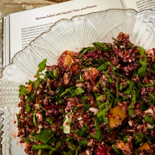 Quinoa Salad with Squash, Feta and Pecans - 2 - King Solomon's Table