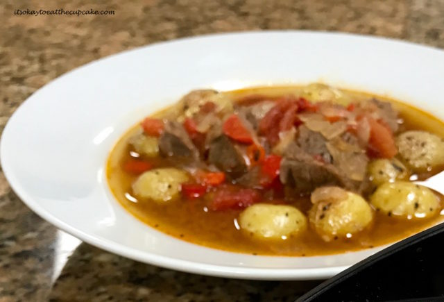 Salyanka, Georgian Beef Stew with Red Peppers - King Solomon's Table