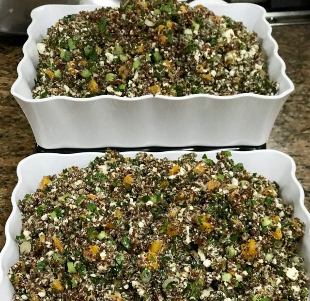 Quinoa Salad with Squash, Feta and Pecans - King Solomon's Table