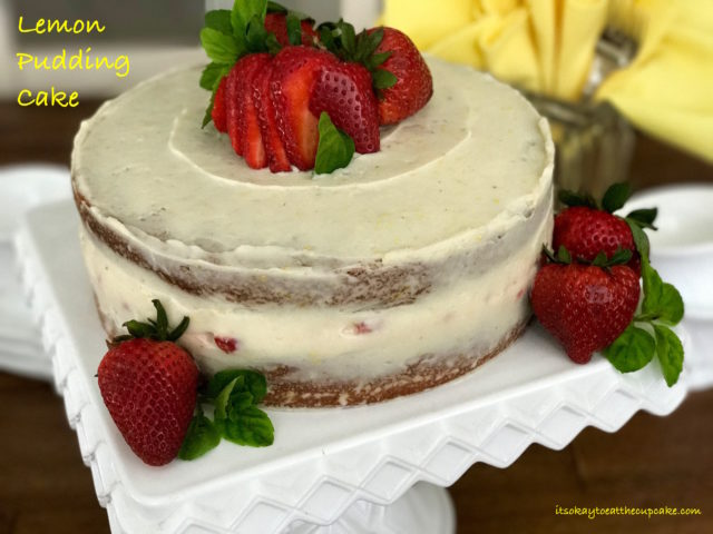 Lemon Pudding Cake 1