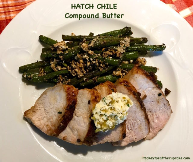 Hatch Chile Compound Butter 8