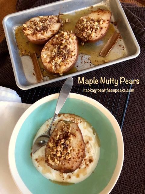 Maple Nutty Pears 1